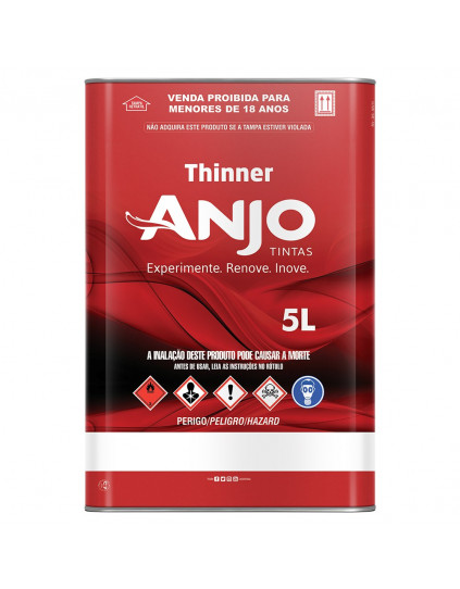 THINNER USO GERAL 2750 - ANJO 5L